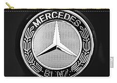 Mercedes-benz 6.3 Gullwing Emblem Carry-all Pouch by Jill Reger