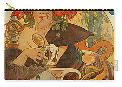 Meuse Beer Carry-all Pouch by Alphonse Marie Mucha