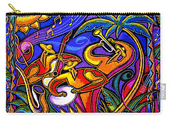 Latin Music Carry-all Pouch by Leon Zernitsky