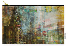 Mgl - City Collage - New York 04 Carry-all Pouch by Joost Hogervorst