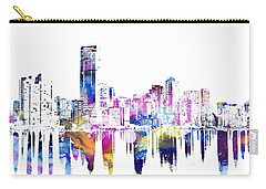 Miami Skyline Carry-all Pouch by Doc Braham