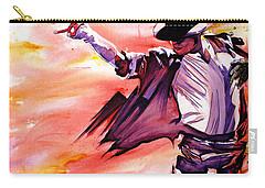 Michael Jackson-billie Jean Carry-all Pouch by Joshua Morton