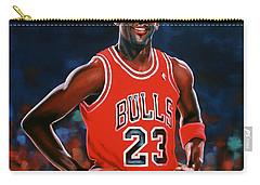 Michael Jordan Carry-all Pouch by Paul Meijering