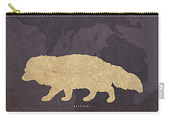 Michigan State Facts Minimalist Movie Poster Art  Carry-all Pouch by Design Turnpike