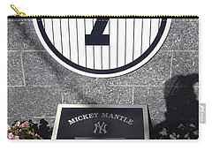 Mickey Mantle Carry-all Pouch by Allen Beatty