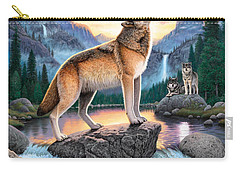 Midnight Call Carry-all Pouch by Chris Heitt