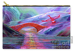 Midnight Silence, Flying Goose Carry-all Pouch by Jane Small