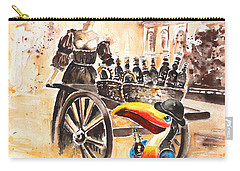 Molly Malone Carry-all Pouch by Miki De Goodaboom