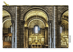 Monaco Cathedral Carry-all Pouch by Maria Coulson