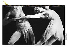 Moscow Opera Ballet Dancers Carry-all Pouch by Underwood Archives