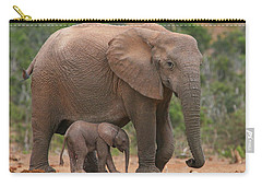 Mother And Calf Carry-all Pouch by Bruce J Robinson