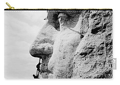 Mount Rushmore Construction Photo Carry-all Pouch by War Is Hell Store