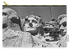 Mount Rushmore In South Dakota Carry-all Pouch by Underwood Archives