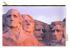 Mount Rushmore, South Dakota, Usa Carry-all Pouch by Panoramic Images