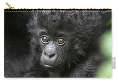 Mountain Gorilla Infant Carry-all Pouch by Suzi Eszterhas