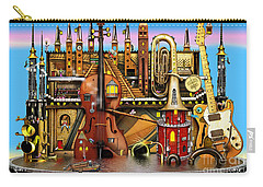 Music Castle Carry-all Pouch by Colin Thompson
