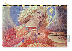 Musical Angel With Violin Carry-all Pouch by Melozzo da Forli