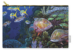 Mutton Reef Re002 Carry-all Pouch by Carey Chen