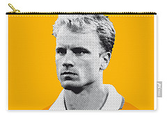 My Bergkamp Soccer Legend Poster Carry-all Pouch by Chungkong Art