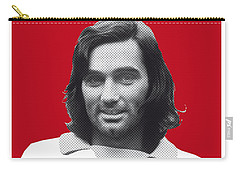 My Best Soccer Legend Poster Carry-all Pouch by Chungkong Art
