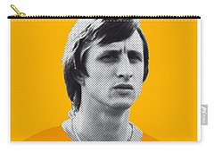 My Cruijff Soccer Legend Poster Carry-all Pouch by Chungkong Art