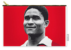 My Eusebio Soccer Legend Poster Carry-all Pouch by Chungkong Art