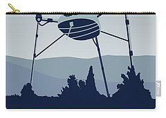 My I Want To Believe Minimal Poster-war-of-the-worlds Carry-all Pouch by Chungkong Art