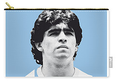 My Maradona Soccer Legend Poster Carry-all Pouch by Chungkong Art