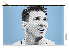 My Messi Soccer Legend Poster Carry-all Pouch by Chungkong Art