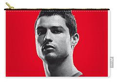 My Ronaldo Soccer Legend Poster Carry-all Pouch by Chungkong Art