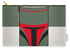 My Star Warhols Boba Fett Minimal Can Poster Carry-all Pouch by Chungkong Art