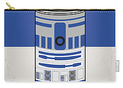 My Star Warhols R2d2 Minimal Can Poster Carry-all Pouch by Chungkong Art