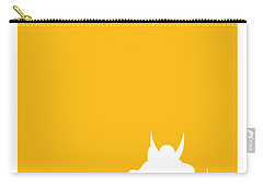 My Superhero 05 Wolf Yellow Minimal Poster Carry-all Pouch by Chungkong Art