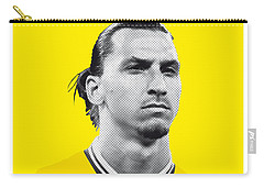 My Zlatan Soccer Legend Poster Carry-all Pouch by Chungkong Art