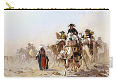 Napoleon And His General Staff Carry-all Pouch by Jean Leon Gerome
