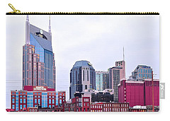Nashville Close Up Carry-all Pouch by Frozen in Time Fine Art Photography