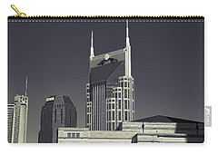 Nashville Tennessee Batman Building Carry-all Pouch by Dan Sproul