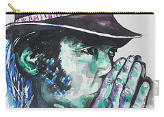 Neil Young Carry-all Pouch by Chrisann Ellis