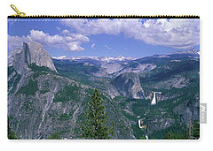 Nevada Fall And Half Dome, Yosemite Carry-all Pouch by Panoramic Images