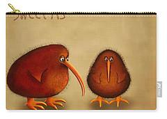New Arrival. Kiwi Bird - Sweet As - Boy Carry-all Pouch by Marlene Watson