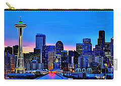 New Seattle Day Carry-all Pouch by Benjamin Yeager