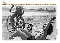 New Sport Of Ice Planing Carry-all Pouch by Underwood Archives