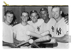 New York Yankee Sluggers Carry-all Pouch by Underwood Archives