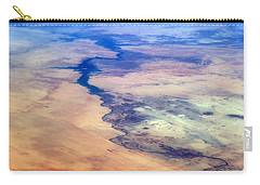 Carry-all Pouch featuring the photograph Nile River From The Iss by Science Source