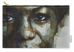 Nina Simone Carry-all Pouch by Paul Lovering