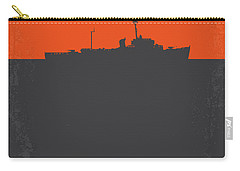 No126 My The Philadelphia Experiment Minimal Movie Poster Carry-all Pouch by Chungkong Art