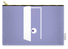 No161 My Monster Inc Minimal Movie Poster Carry-all Pouch by Chungkong Art