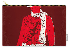 No184 My Django Unchained Minimal Movie Poster Carry-all Pouch by Chungkong Art