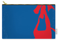 No201 My Spiderman Minimal Movie Poster Carry-all Pouch by Chungkong Art