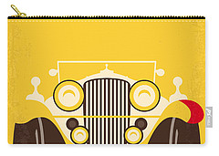 No206 My The Great Gatsby Minimal Movie Poster Carry-all Pouch by Chungkong Art